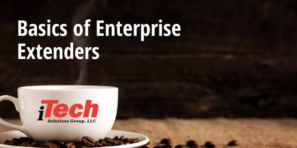 Basics of Enterprise Extenders (1)