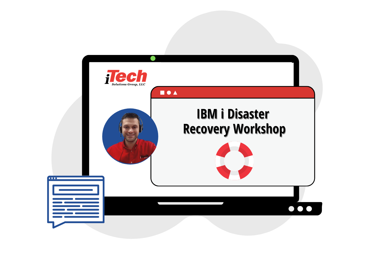 IBM i Disaster Recovery Workshop Graphic