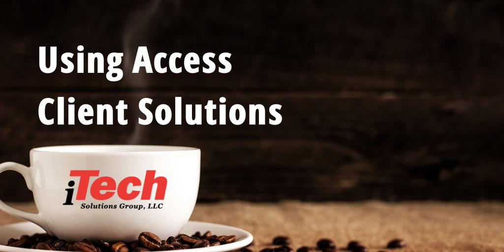 LP_ Using Access Client Solutions